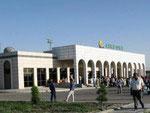 Airport of Bukhara, Uzbekistan